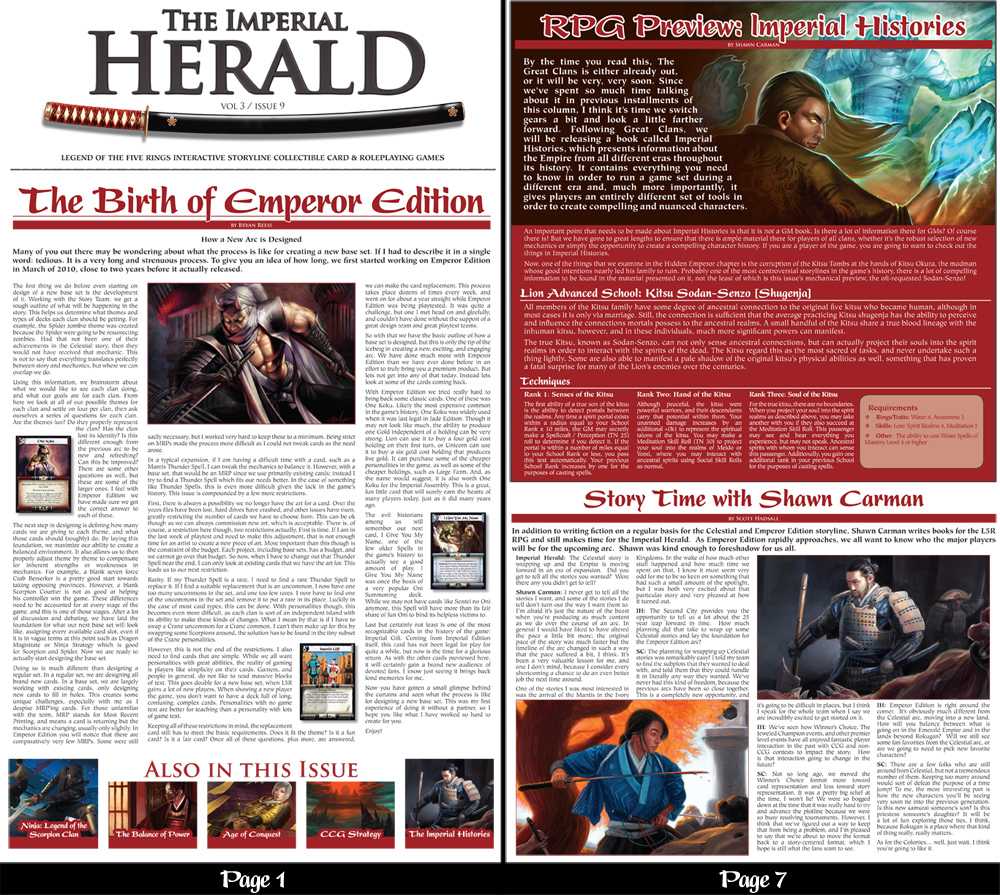 Imperial Herald Vol 3 Issue 9