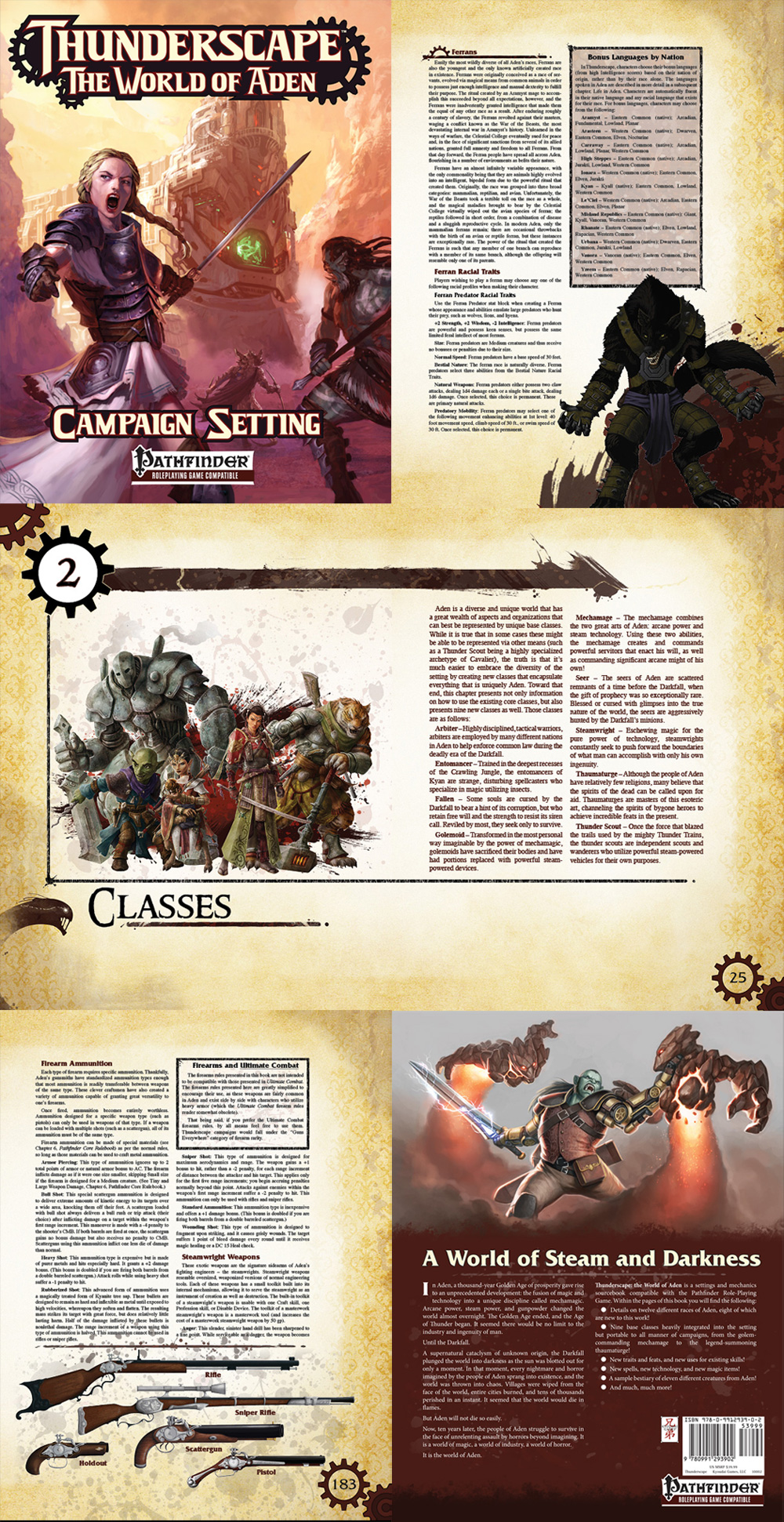 Thunderscape RPG - Lead Graphic Design